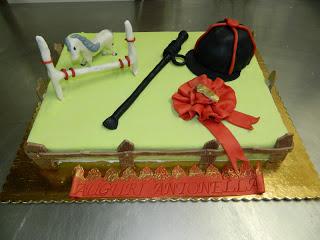torta equitazione