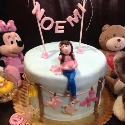 Torta Compleanno Noemi.In Attesa Di Noemi La Torta Francesca E Il Suo Blog