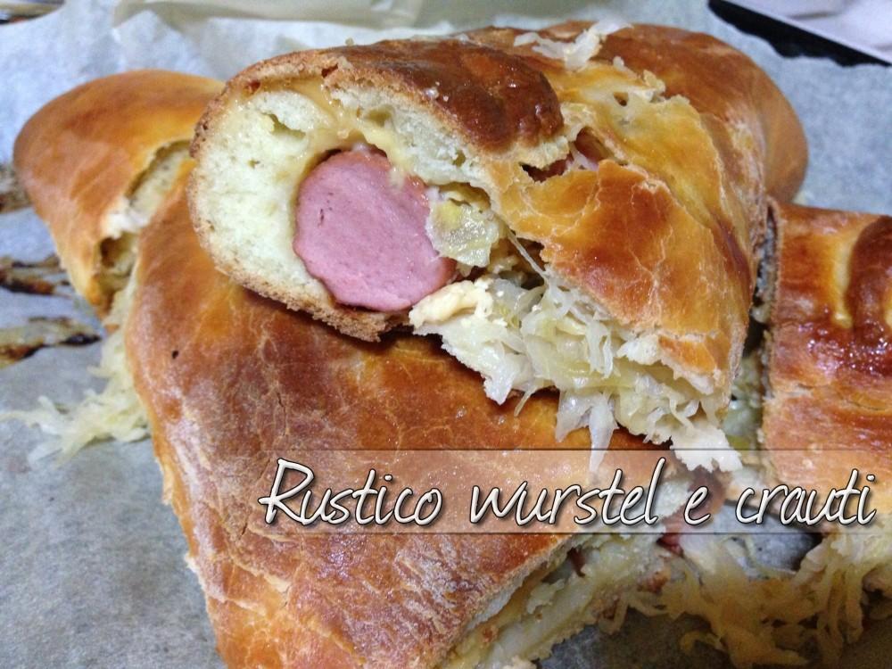 rustico wurstel e crauti