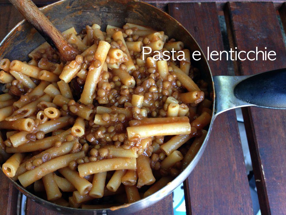 pasta e lenticchie - francesca ( e il suo blog) - Cucinare Pasta E Lenticchie