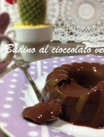 Budino al cioccolato velocissimo