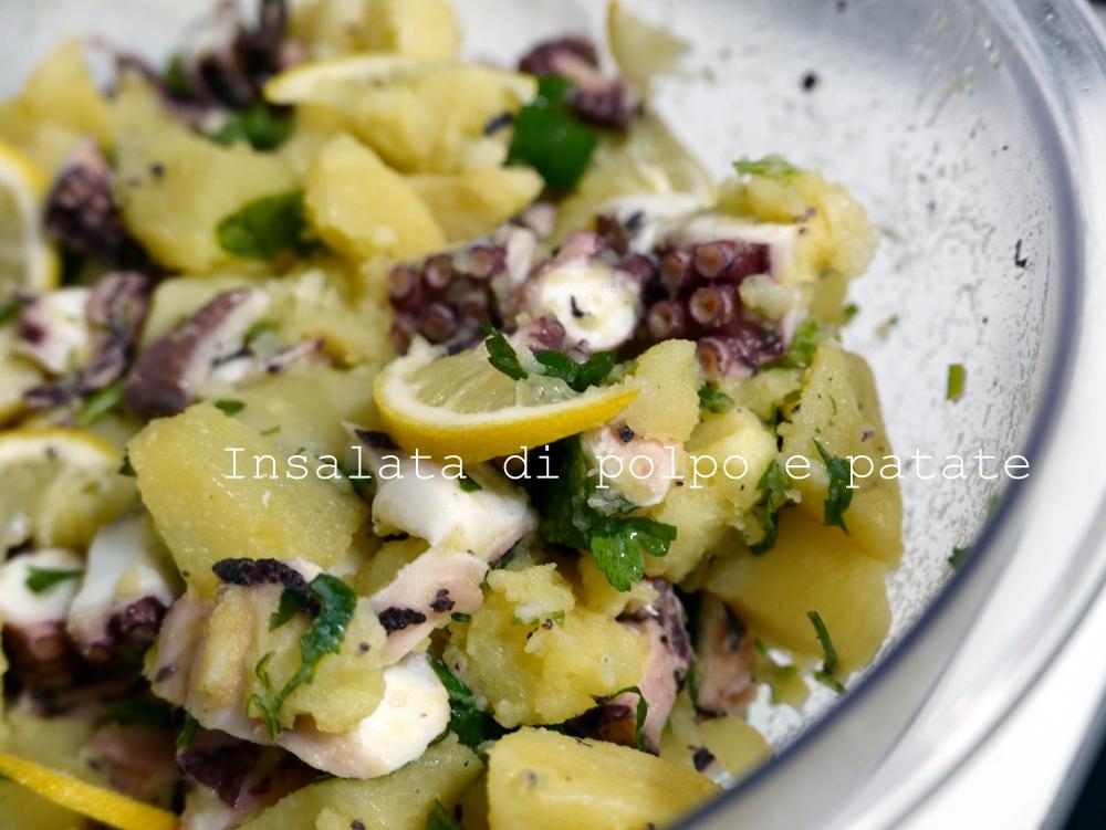 insalata polpo e patate