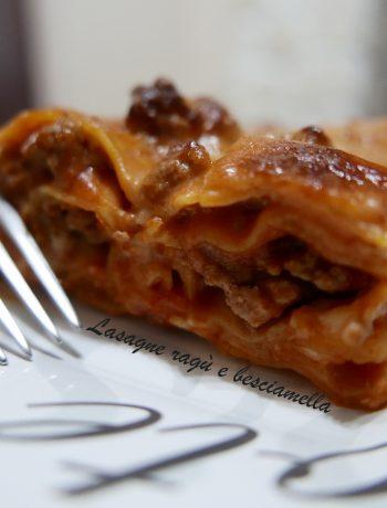 lasagne ragù e besciamella