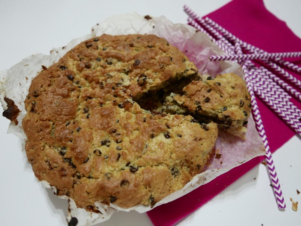 Torta mega cookie alla Nutella