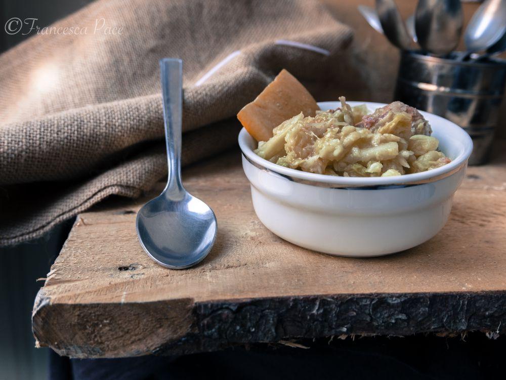 zuppa verza patate