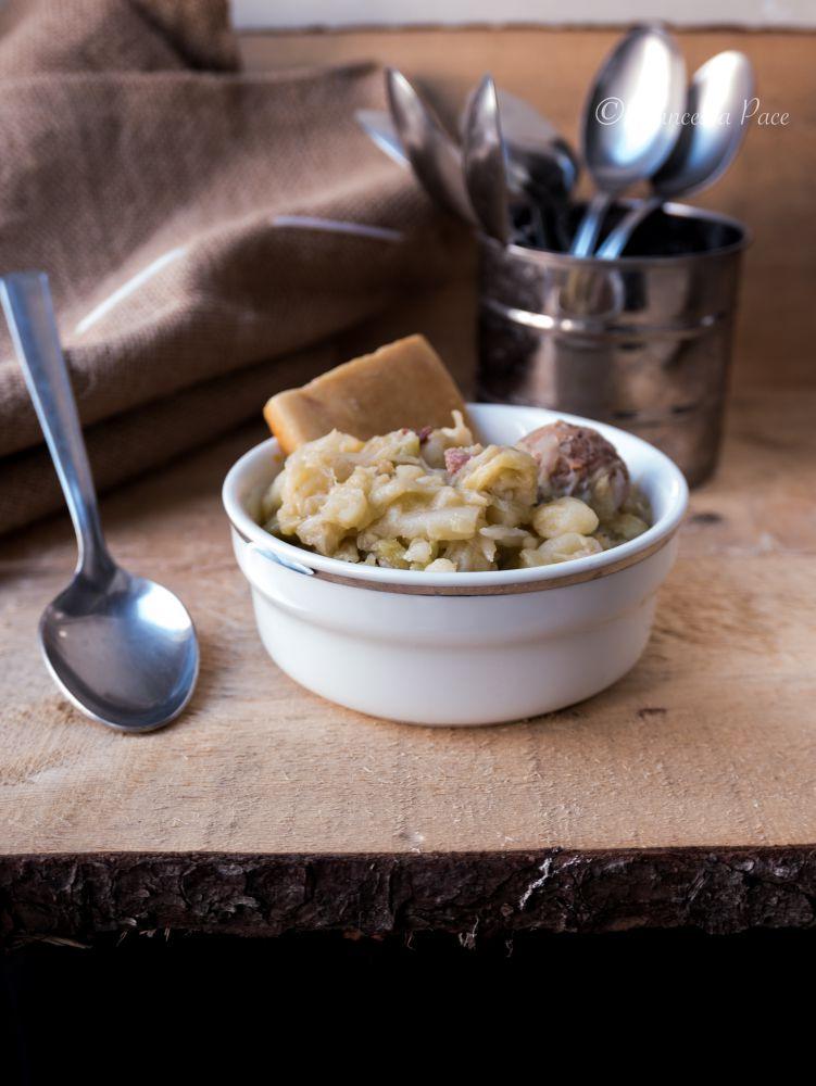 minestra di verza e patate