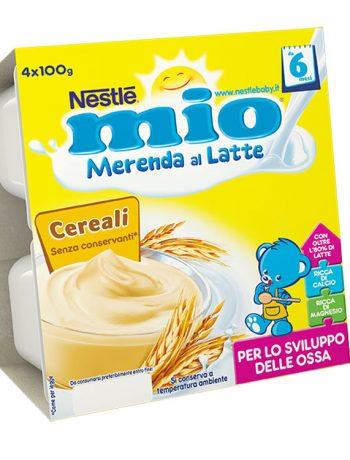 merenda al latte MIO