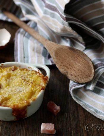 Tortino di patate e pancetta