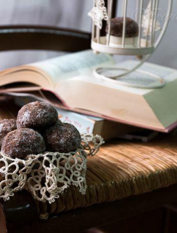 castagnole al cacao al forno