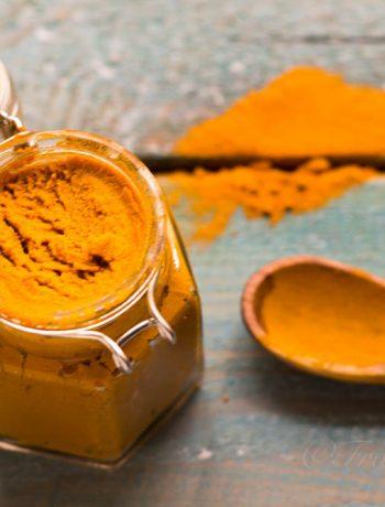 Pasta di curcuma per golden milk