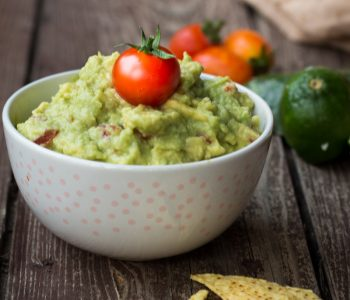 Guacamole salsa messicana