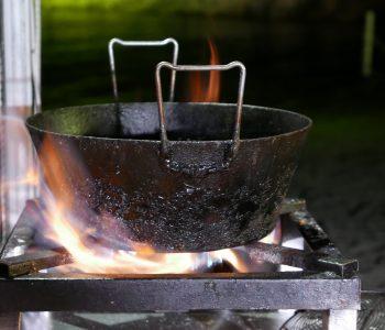 fuoco farina e mare
