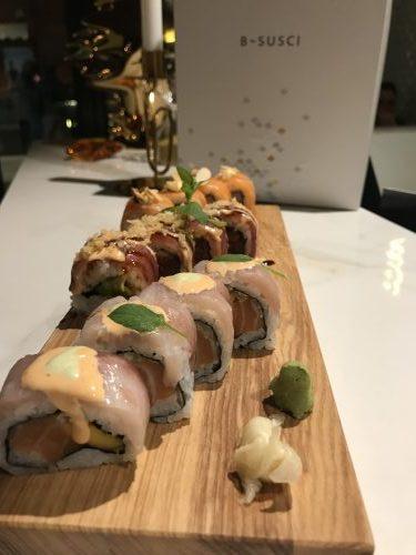 roll di sushi