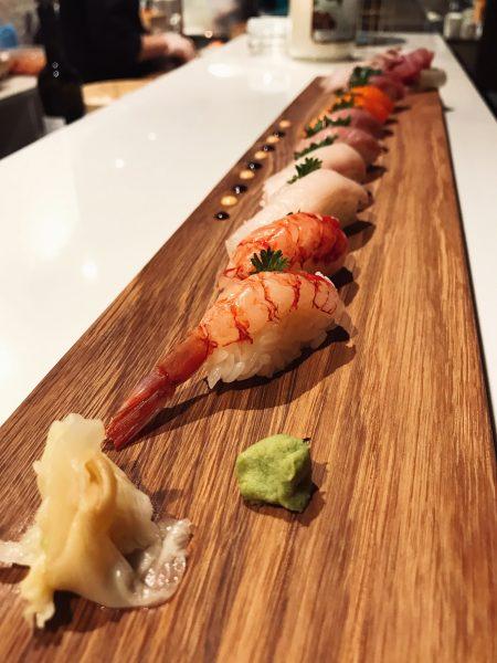 sushi piatto