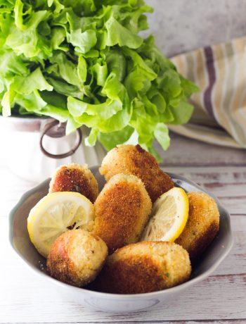 Crocchette di pesce e patate