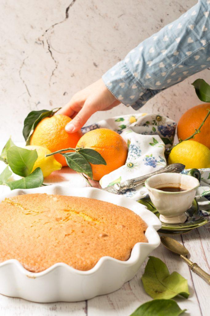 Torta soffice agli agrumi ricetta